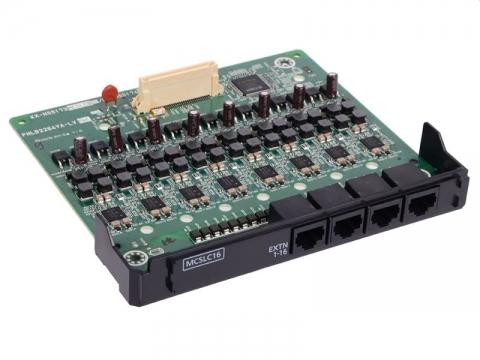 16-портовая плата аналоговых внутренних линий (MCSLC16) KX-NS5174X