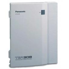 Panasonic KX-TEB308RU аналоговая АТС, 3 городских, 8 внутренних линий