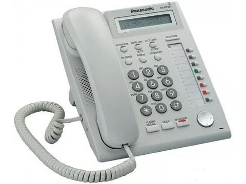 IP телефон Panasonic KX-NT321 с адаптером питания б/у