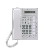 Системный телефон Panasonic KX-T7730RU гибридный белый